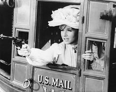 0 Angela Douglas with a gun in Carry on Cowboy Kurt Russell, British Seaside, English Actresses, Great British, Vintage Girls, Carry On, Two By Two, Guns, Movies