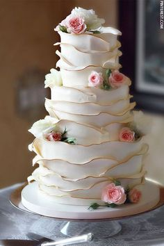 Unique Wedding Cakes The detailing is outstanding. Related posts: 42 Eye-Catching Unique Wedding Cakes Unique Wedding Cakes Photos 31 Unique Square Wedding Cakes to Add Your Weddings Creativity 55 Beautiful Wedding Cakes for Every Venue Unique Wedding Cakes, Beautiful Wedding Cakes, Gorgeous Cakes, Wedding Cake Designs, Pretty Cakes, Amazing Cakes, Japanese Wedding Cakes, Floral Wedding Cakes, Whimsical Wedding