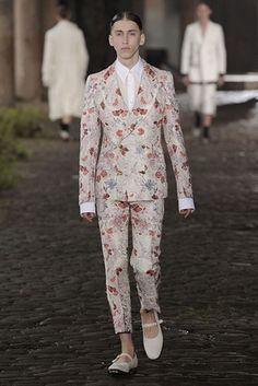 Alexander McQueen  S/S14 Menswear Collection London Collections : Men