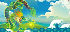 Mythical Chinese Water Dragon