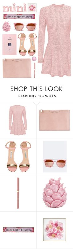 """""""STYLE MINI"""" by licethfashion ❤ liked on Polyvore featuring Givenchy, Manolo Blahnik, ZooShoo, Zara Home, Natural Life, MAC Cosmetics, polyvoreditorial and licethfashion"""