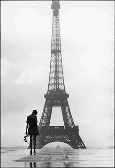 Twiggy in Paris by Giles Caron