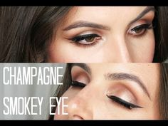Champagne Smokey Eye | Too Faced Chocolate Bar Tutorial - YouTube