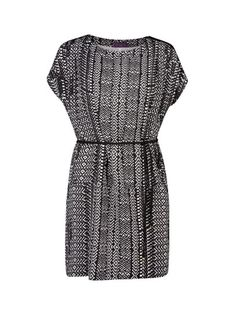 VIOLETA BY MANGO - Monochrome print dress