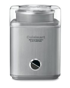 Cuisinart ICE-30BC Pure Indulgence 2-Quart Automatic Frozen Yogurt, Sorbet, and Ice Cream Maker. Shopswell | Shopping smarter together.™