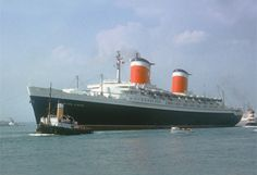 SS United States....currently docked in Phila - brought parts of my family to the U.S. only a few decades ago to start a new life.  I would LOVE to see this ship restored and honored for the respect it deserves!!