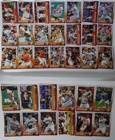 2015 Topps Series 1 & 2 San Francisco Giants Team Set of 33 Baseball Cards #sfgiants #topps #SanFranciscoGiants