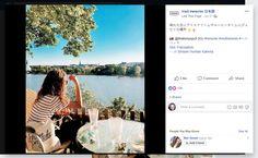 Screenshot: (2) Sinisen Huvilan Kahvila Blessed, Polaroid Film, Peace, Facebook, Sobriety, World