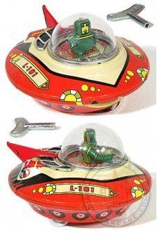 Space Patrol Commander 1950 | Tin Toy Treasures | Tin Toy Treasures |
