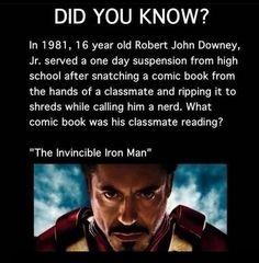 The Irony of Iron Man