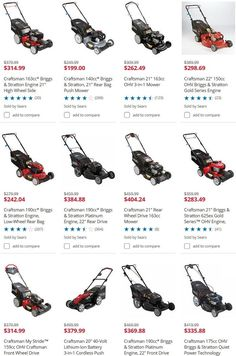 Lawn Mower Parts For Craftsman Lawnmowers - Fix Your Lawnmower DIY