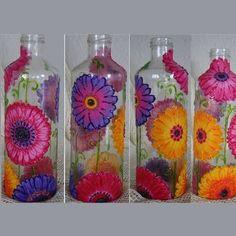 botellas decoradas - Buscar con Google