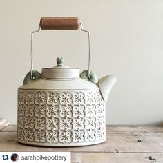 Us Brits love good #teapots. Here's a stunner. #imakefurniture #inmelbourne…