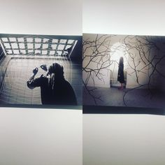 Exhibition Iran-Spain. Miss Buterfly for Iran and Atelier for Spain. A symbolic universe expressed in an amazingly similar poetic manner by the escape of light the dream space and the allegory of the web spider in which a woman is trapped. #museo #condeduque #madrid #art #contemporaryart #universality #iran #spain #woman #one #humanity by bobymo