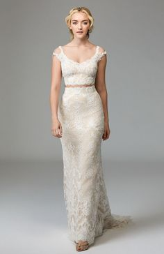 6de4116e70c72 Shop designer bridal gowns like the Roswell Skirt Style 57124 dress by  Willowby and other bridal accessories at Blush Bridal.