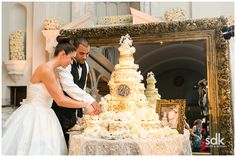 A Cream and Gold Wedding | Revelry Event Designers | Vibiana | Coordinator: Mindy Weiss Events