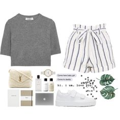 Too much. by joycereina on Polyvore featuring Valentino, Topshop, Jil Sander, Yves Saint Laurent, Skagen, Agonist, philosophy, Shinola and Sloane Stationery