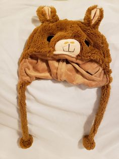 brown Alpaca Headband  Fancy Dress Costume Accessory ONE SIZE FITS ALL Llama