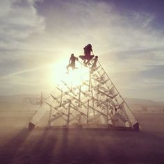 15 Pictures That Prove Burning Man Is Another World Burning Man 2014, Burning Man Art, Another World, The Real World, Statues, Black Rock Desert, Sculpture, Man Photo, Installation Art