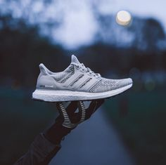 Try on a new boost of power. adidas Ultra Boost is just what you need for that extra boost!
