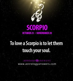 Click on this picture to learn even more about #Scorpio :)