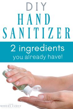 Home Cleaning 105764291238063676 - DIY Hand Sanitizer (Just two ingredients!) – it works! Also, find DIY Disinfectant Wipes, all-natural face wash & more! This Hand Sanitizer kills germs fast! Household Cleaning Tips, Homemade Cleaning Products, Cleaning Recipes, House Cleaning Tips, Natural Cleaning Products, Cleaning Hacks, Diy Sanitisers, Natural Face Wash, Natural Hand Sanitizer