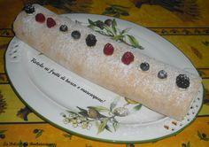 Rotolo ai #frutti di bosco con #mascarpone e #panna!!