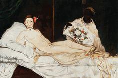 Edouard Manet - Olympia - overstockArt.com