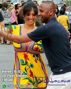 Esta semana en Rumbacana Aprende a Bailar #Salsa Viernes Invita un amigo al #SanoVicioDeBailar ... Ven y #BailaParaDivertirte  Somos un grupo de personas con una pasión #BAILAR y una vocación #ENSEÑAR Son DIECISÉIS AÑOS dedicados a la docencia del #Baile #Rumbacana se está reinventando #reloaded - #regrann