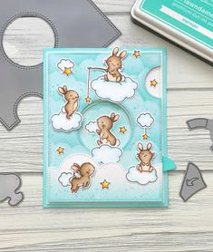 I am back today with a Magic Iris card to share with you. This newly released interactive die set from Lawn Fawn is so much . Mama Elephant Stamps, Baby Elephant, Send A Card, I Card, Scrapbook Cards, Scrapbooking, Interactive Cards, Magic Cards, Bird Cards