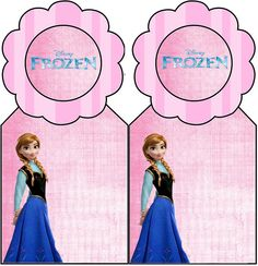 Frozen Free Printable Bookmarks.