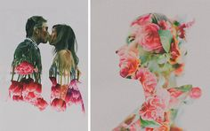 Double Exposure Obsession | Bespoke-Bride: Wedding Blog
