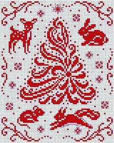 Cross-stitch Christmas Cross Stitchers Club