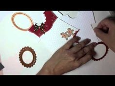 How to construct a template for making a cute onesie card.  Make a card using a textured card base or patterned paper.