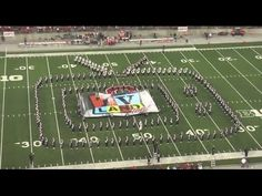 Perhaps the best shout-out, ever? Thanks to the Ohio State marching band for this TV tribute!!
