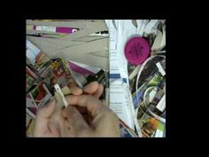 How to make a paper bead with 1 strip 35 long   and  1 inch wide#1