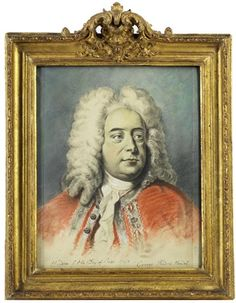 George Frideric Handel (born Georg Friederich Händel) (1685-1759), pastel (1743), by Thomas Hudson (1701-1779).