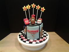Disney Pixar Cars 2 cake