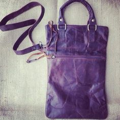 The Festival Friend handbag in Dark Italian leather.