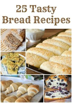 Easy Homemade Bread Recipes! The Best Bread Recipes for Dinner or Breakfast!