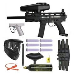 Tippmann X7 Phenom Mechanical Paintball Marker Gun 3Skull Super Mega Set  Want to get this set