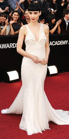 not really my style, but rooney mara always displays some seriously fierce fashion