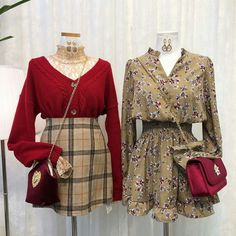 Korea Fashion, Asian Fashion, Look Fashion, Fashion Outfits, Womens Fashion, Classy Outfits, Pretty Outfits, Korean Outfits, Everyday Fashion