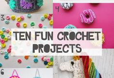 Since learning how to crochet earlier this year I've become obsessed with it. These fun crochet projects are all perfect if you like making things that don't take too long,…