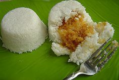milk rice with coconut stuffing