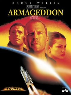 A good natural disaster movie will have you sitting on the edge of your seat and hoping you never have to live through such an experience! Bruce Willis, Tv Series Online, Tv Shows Online, Movies Online, Michael Bay, Liv Tyler, Aerosmith, Armageddon Movie, Disaster Movie
