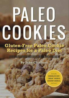 Paleo, gluten free cookie cookbook