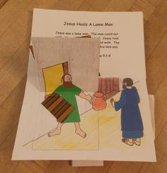 """This pop-up book was designed for use during our Vacation Bible School. We were studying the 7 miracles of Jesus that are found in the book of John. The theme of the VBS was That You May Believe based on the passage in John 20:30-31 """"And truly Jesus did many other signs in the presence of His..."""