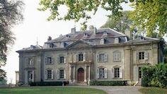 Château de Ferney-Voltaire, façade sur cour