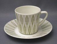 Arabia, Vuokko, Raija Uosikkinen Kitchenware, Tableware, Ceramic Painting, Vintage Ceramic, Bone China, Finland, Scandinavian, Tea Cups, Retro